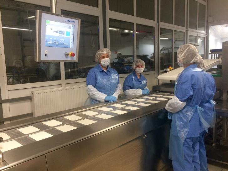Линию фасовки сыра запустили в Санкт-Петербурге