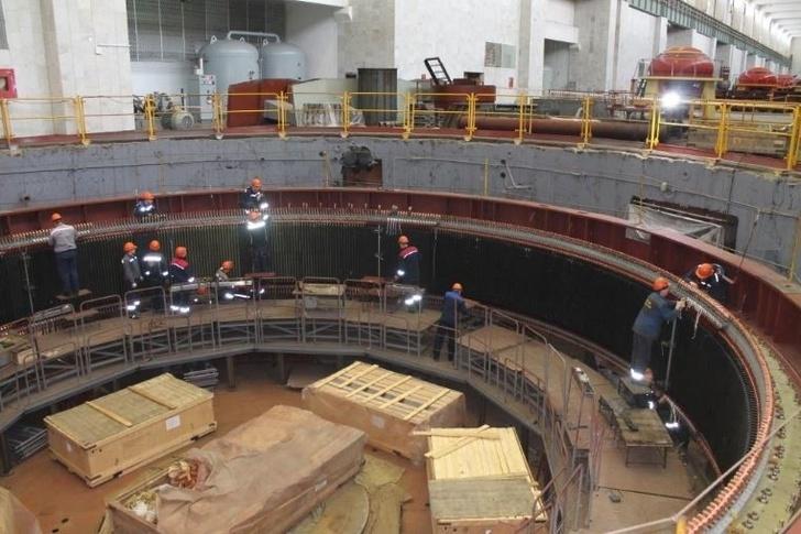 На Чебоксарской ГЭС ввели в эксплуатацию обновленный гидроагрегат №11