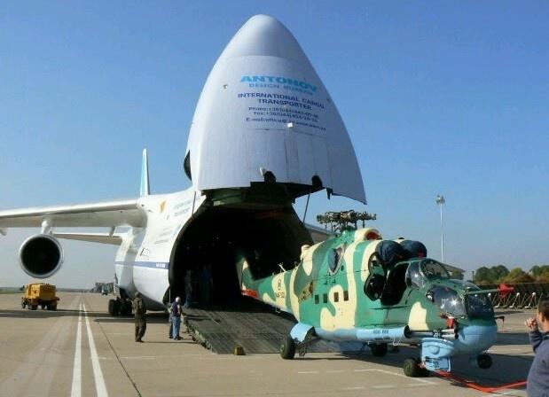 Поставка Ми-35М Нигерии началась
