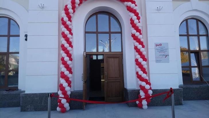 Железнодорожный вокзал станции Тамбов открылся после реконструкции