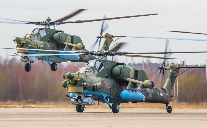 В ЦАГИ завершены испытания подвесного топливного бака для Ми-28Н и Ми-35М