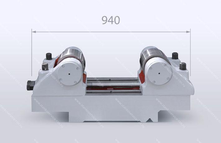 Люнет роликовый открытый для обработки деталей диаметром от 300 до 500 мм