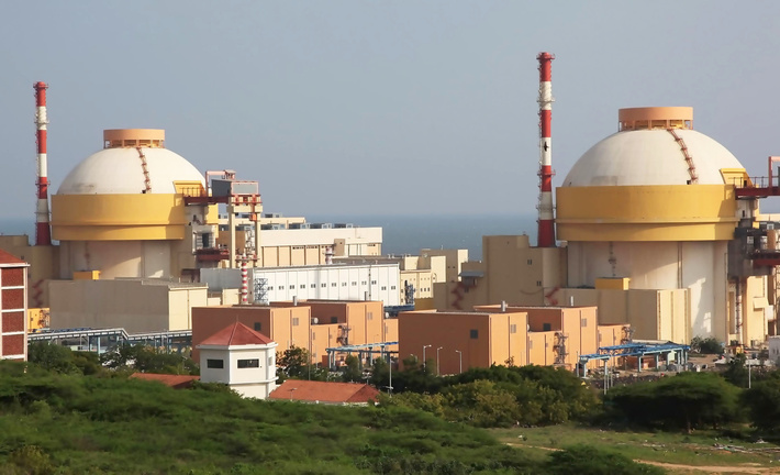Сооружение III очереди АЭС Куданкулам перешло в фазу практической реализации
