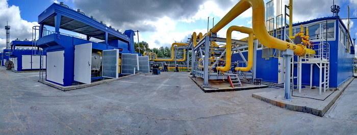 Система комплексной газоподготовки и газоснабжения Прегольской ТЭС