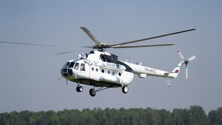 Вертолет Ми-8 с реанимационным оборудованием на борту пополнил флот томской санавиации