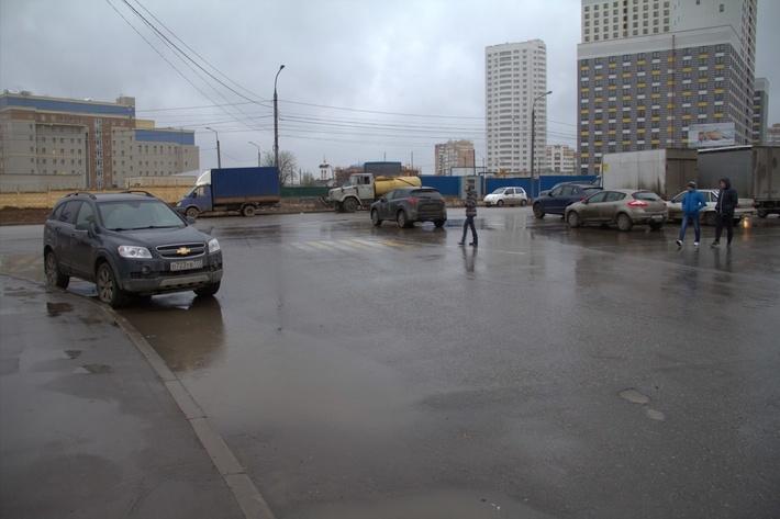 Химки, улица Молодежная до установки