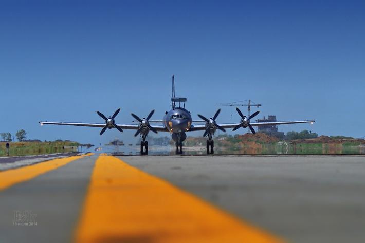 модернизированный Ил-38Н прибыл в Ейск