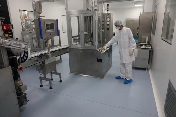 На строящемся в Московской области биотехнологическом комплексе запущена первая линия