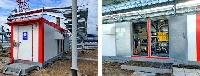 Пусковая компрессорная установка для энергоблоков «Урал» на ГТЭС Восточно-Перевального м/р