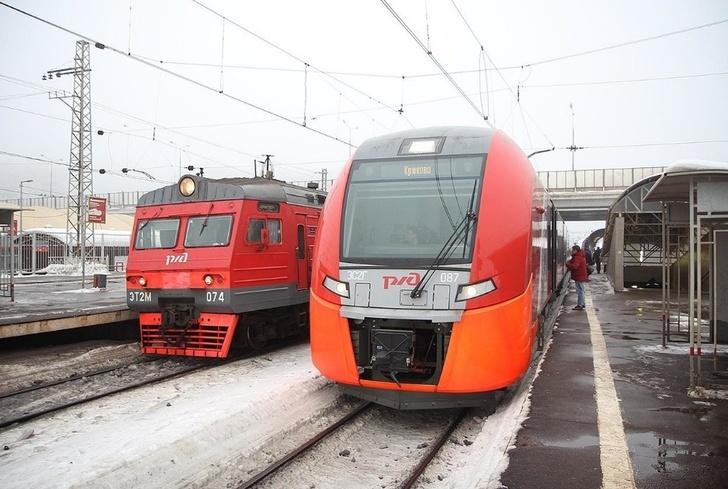 10-вагонную «Ласточку» запустили между Москвой и Клином