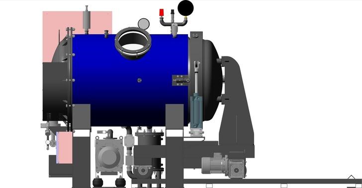 Вакуумно-компрессионная печь СНВС-7.12/1.1-И2ПВ3Д