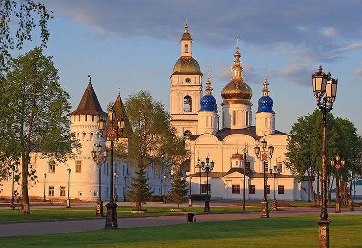 Тобольск основан в 1587 году как центр освоения Сибири.