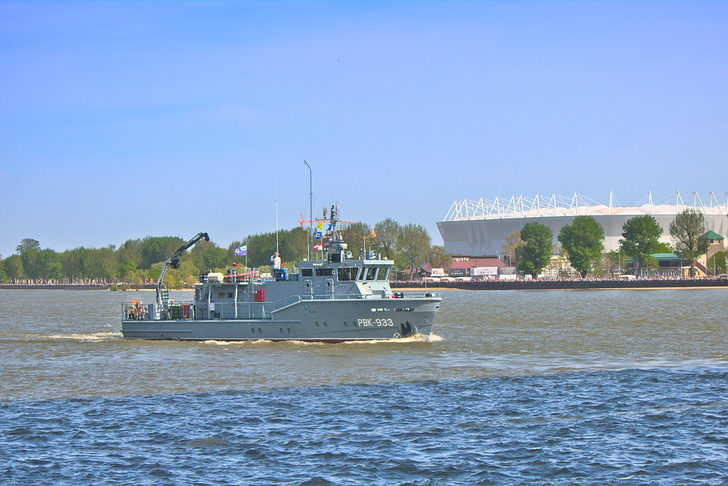 Рейдовый водолазный катер РВК-933