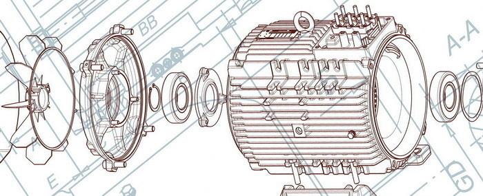 Концерн РУСЭЛПРОМ разработал две новые линейки энергоэффективных общепромышленных электродвигателей
