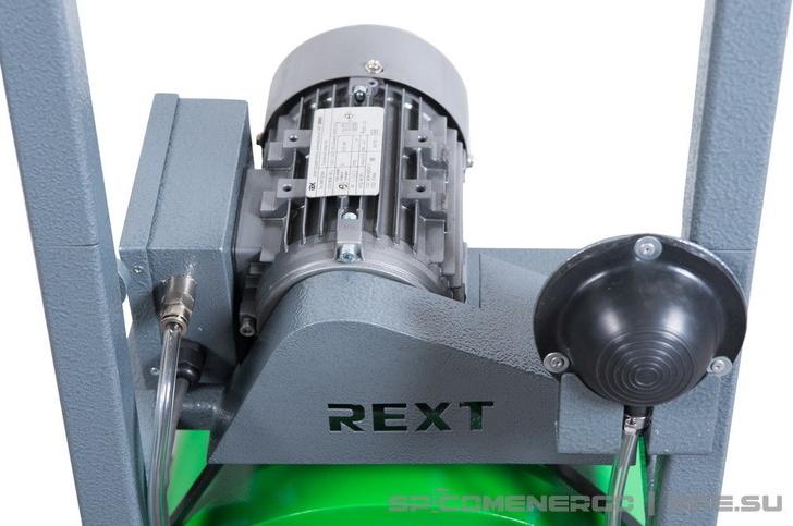 Прочистной аппарат REXT (узел крепления пневматической педали)
