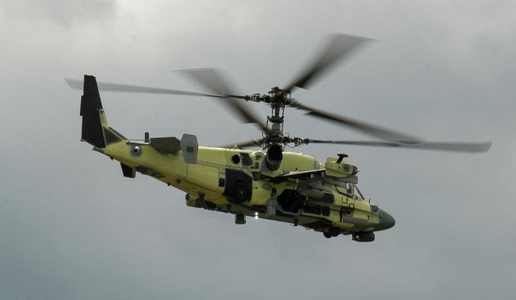 """Ударно-разведывательный вертолет Ка-52 """"Аллигатор"""""""