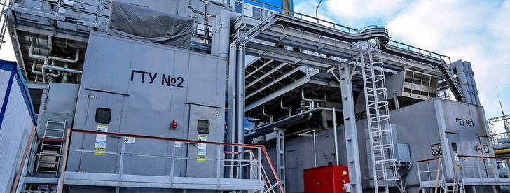 Две газотурбинные установки составляют основу ПГУ-115