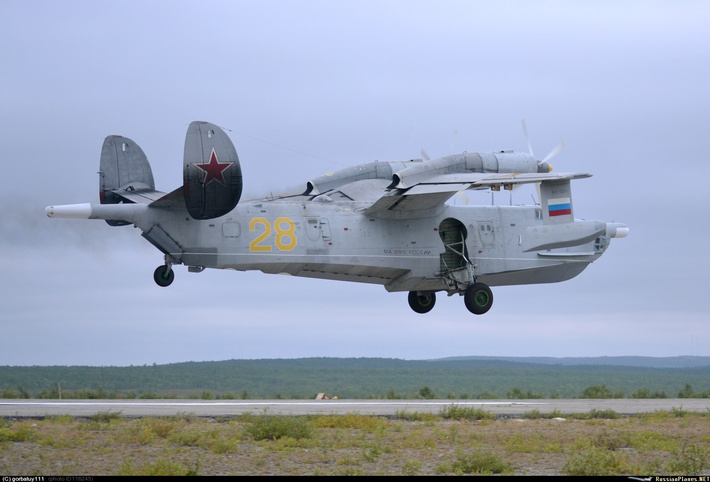 Бе-12 Североморск-3