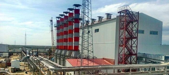 Газотурбинная электростанция мощностью 24 МВт