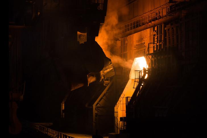 Завод по производству стали- Череповец Северсталь