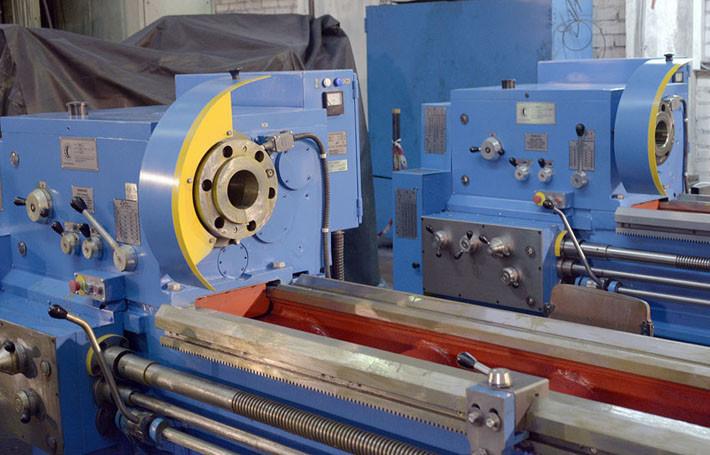 Универсальные токарно-винторезные станоки 1М63Н РМЦ-5000 (станки в процессе консервации)