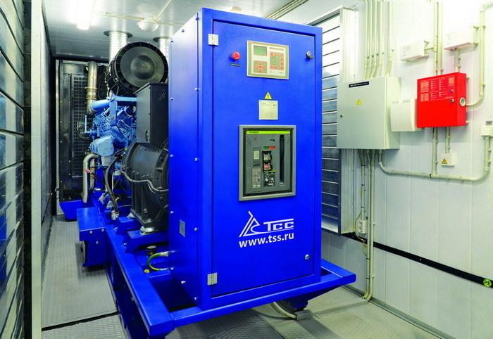 Дизель-генераторная установка производства ГК ТСС мощностью 800 кВт