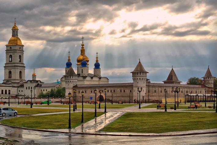 Тобольский кремль - уникальный образец сибирского зодчества.