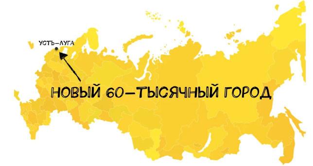 Новый город Усть-Луга