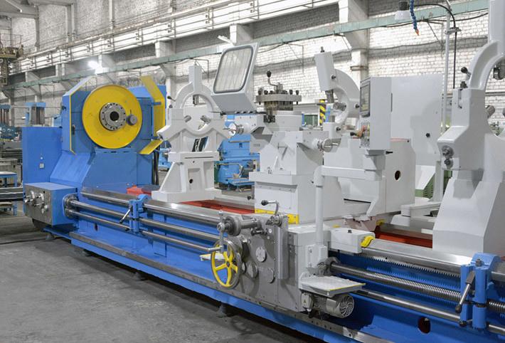 Тяжёлый специальный токарно-винторезный станок РТС317-6 (РТ317)
