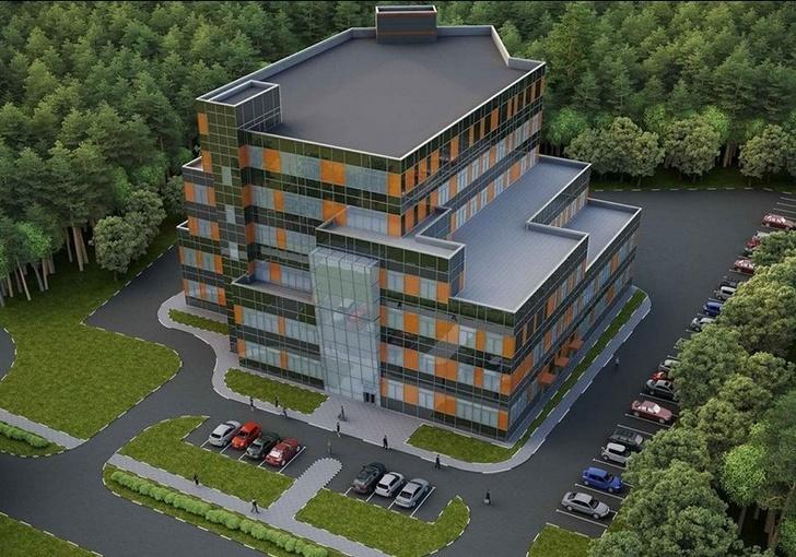 проект здания завода компании «Элта»