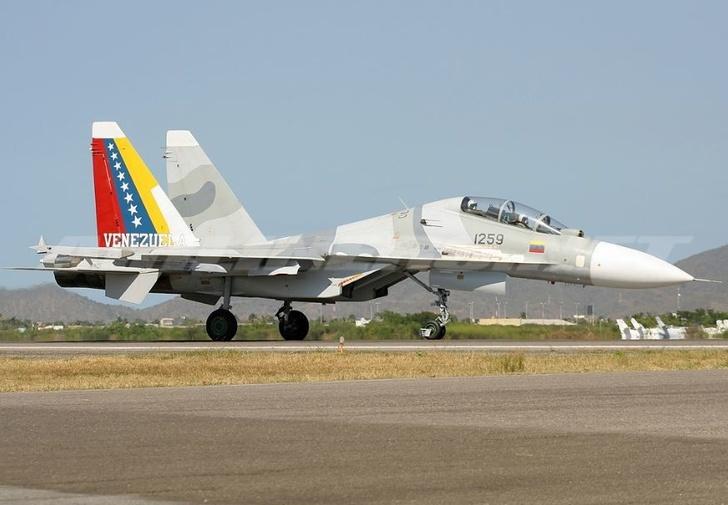 Истребитель Су-30МК2 ВВС Венесуэлы