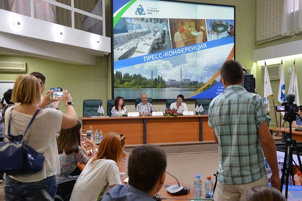 Пресс-конференция Д.Козловского в Курчатове
