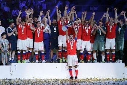 Cборная России чемпион мира по мини-футболу среди студентов