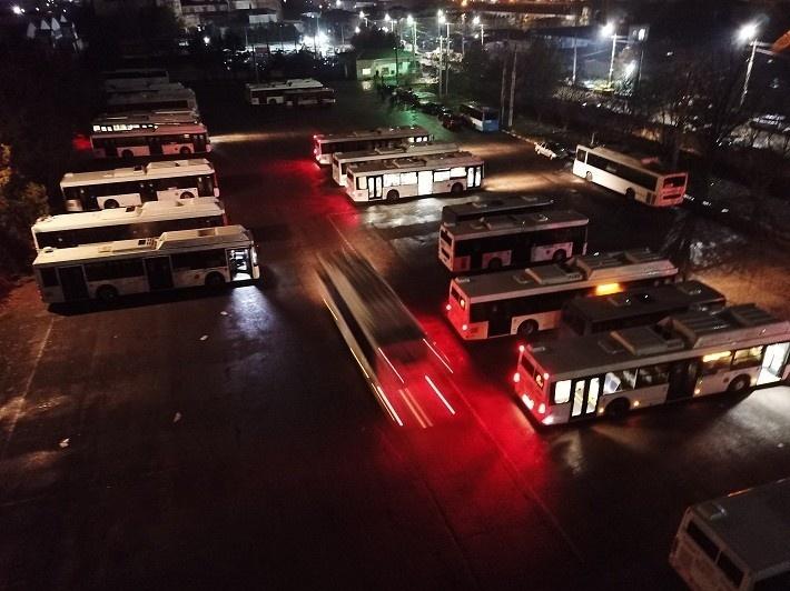 В Симферополе на линии вышли 44 новых автобуса