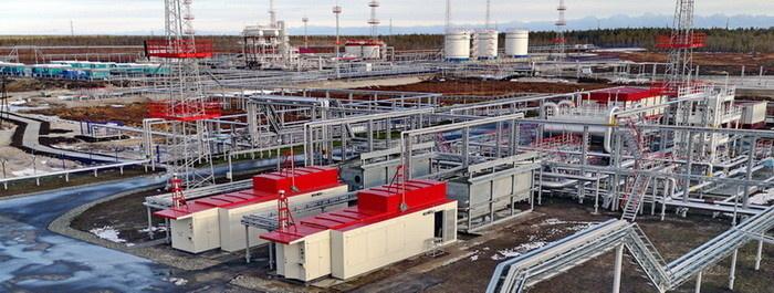 Компрессорные установки от компании ЭНЕРГАЗ перекачивают попутный газ на ДНС Южно-Ватлорского месторождения