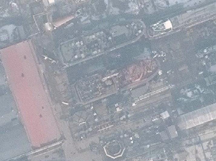 Подборка свежих спутниковых фото российских судостроительных заводов