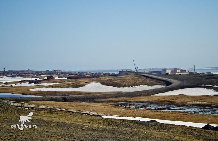 Белушья Губа находится примерно в 10 км от Рогачево