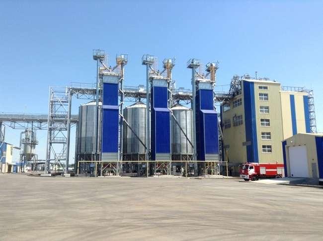 комплекс «РусАгро» по производству комбикормов в Тамбовской области