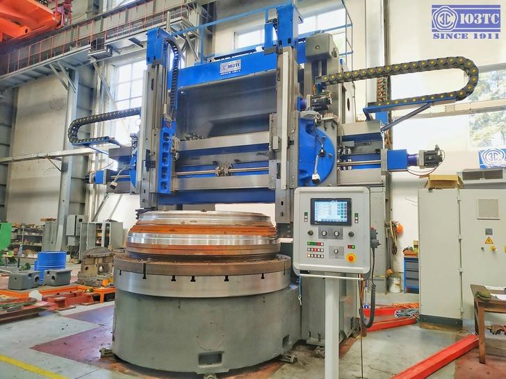 Испытания двухстоечного двухсуппортного токарно-карусельного станка