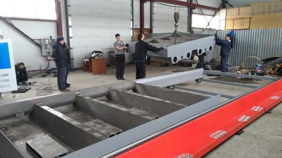Монтаж машины ULTRATHERM MTRP-2060 на предприятии г. Барнаул