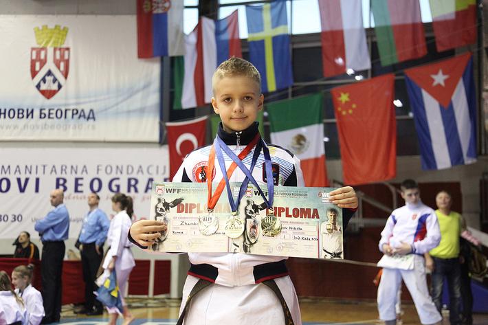 Никита Жамков Чемпион мира по каратэ