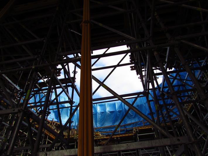 Внутри стартового комплекса