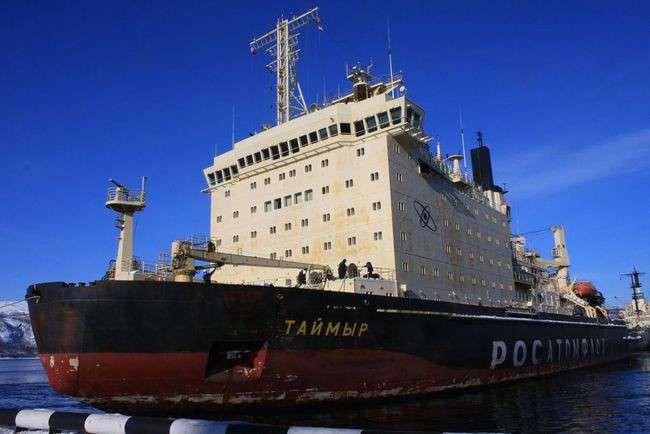 атомный ледокол «Таймыр» отправился в Обскую губу