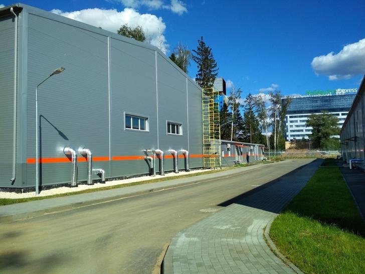 Станция водоочистки в Шереметьево
