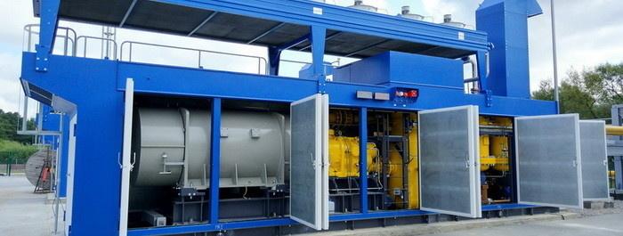 Компрессорная установка №1 в составе ДКС топливного газа