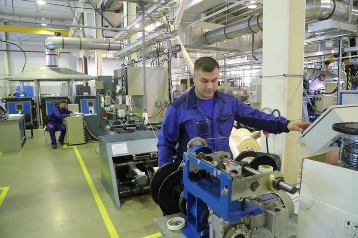 На заводе «ПРОМТЕХ-Дубна» запущена линия по производству силовых авиационных проводов
