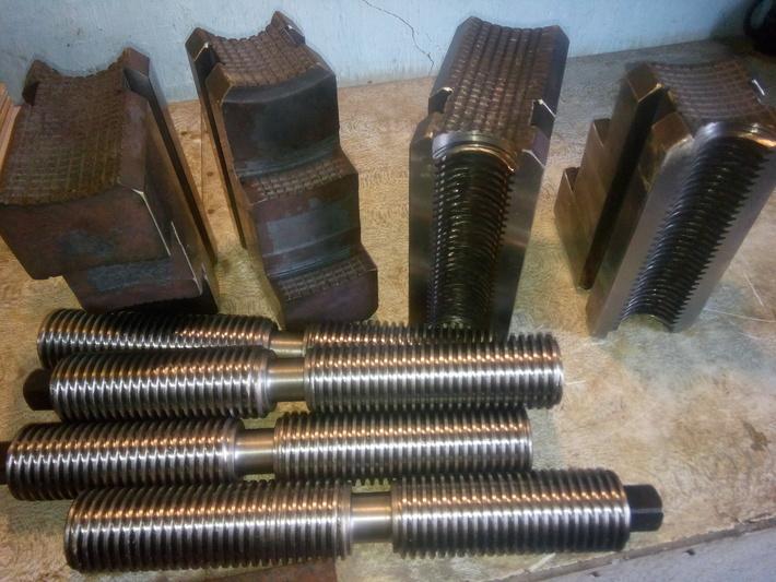 Кулачки 164.09.159 и Винты 165.09.166 для токарных патронов ф. 1000мм. и 1250мм.