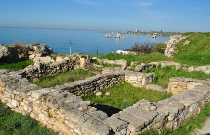 Мирмекий был разрушен в IV веке нашей эры.