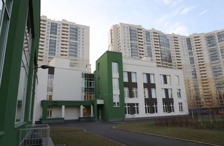 В Санкт-Петербурге открылась новая начальная школа