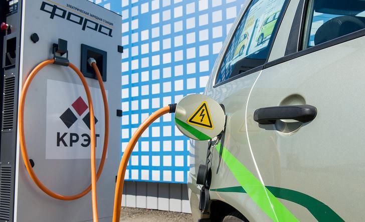 КРЭТ открыл в Москве общедоступную сеть электрозарядных станций